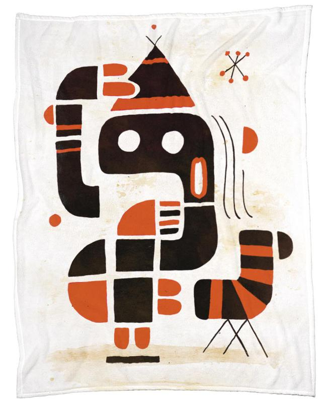 Mindchecker Fleece Blanket