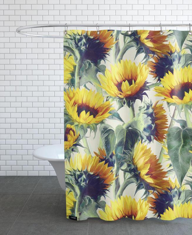 Sunflowers Forever Shower Curtain
