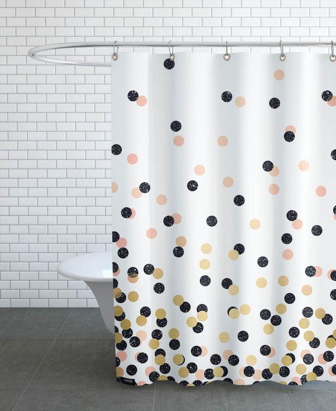 , Polka Dots Shower Curtain