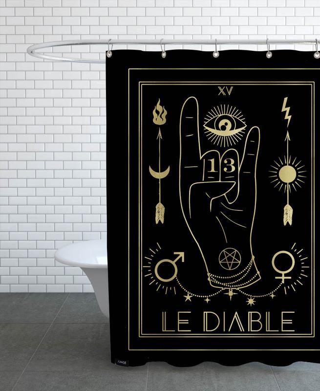 Le Diable Shower Curtain