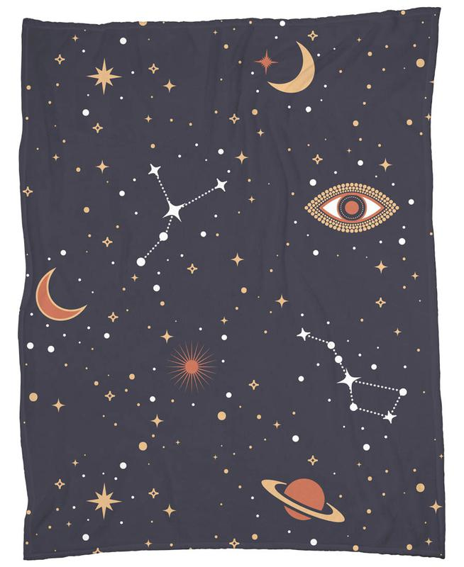Mystical Galaxy Fleece Blanket