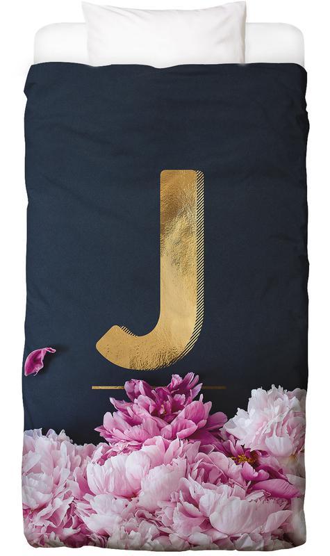 Flower Alphabet J Bed Linen