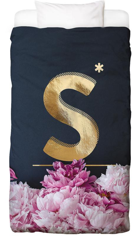 Flower Alphabet S Bed Linen