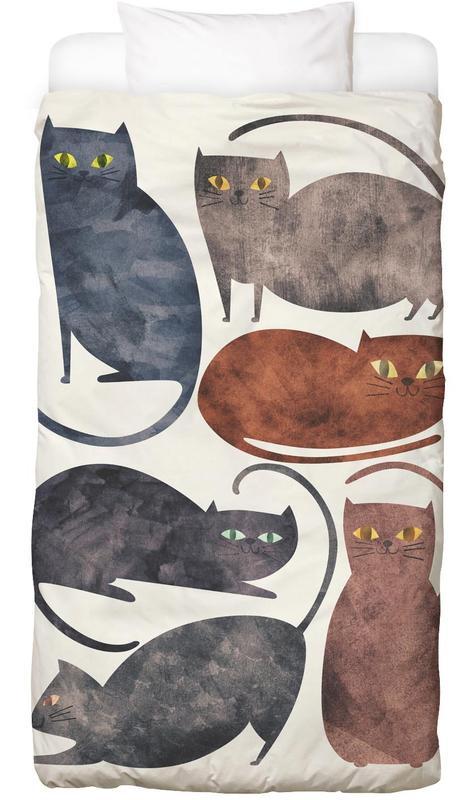Katzen, Cats Bettwäsche