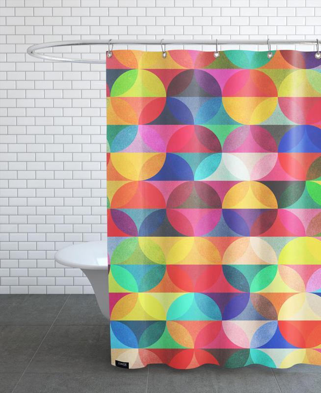 Patterns, Halo Shower Curtain