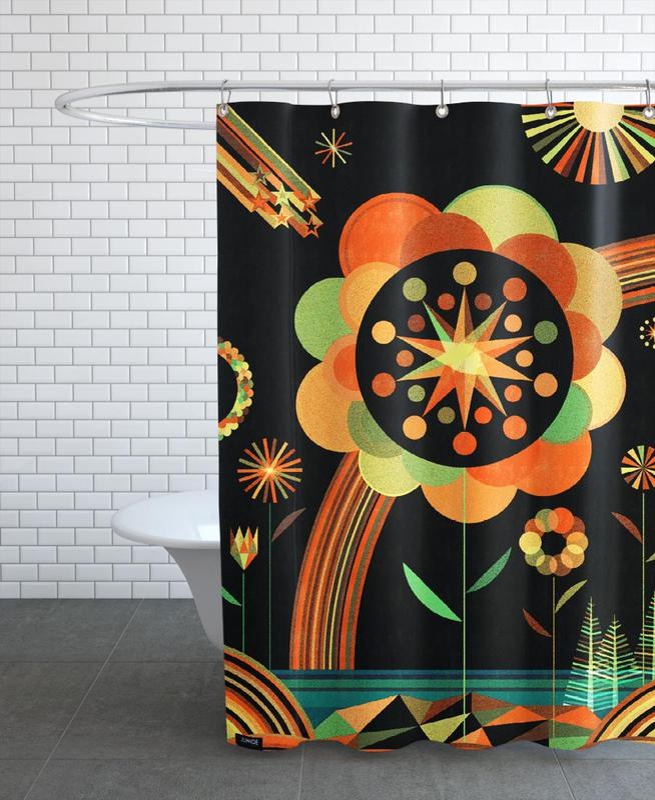 Joy Scape -Duschvorhang