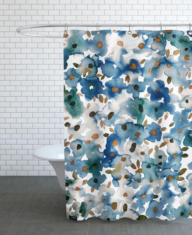 , Georgia Floral Shower Curtain