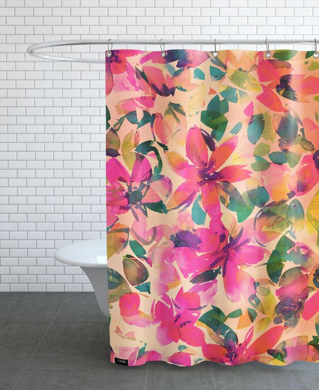 , Helena Floral Shower Curtain