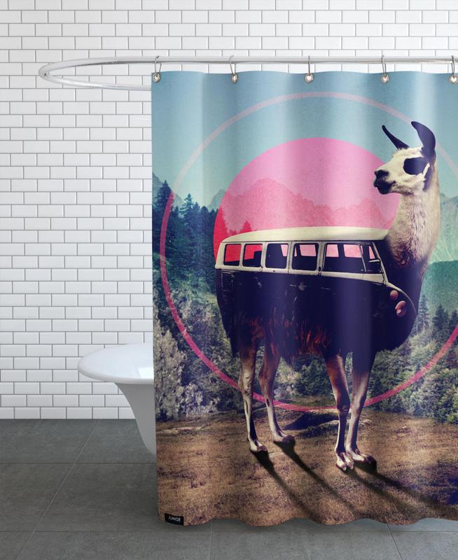 Lamas, Llama rideau de douche