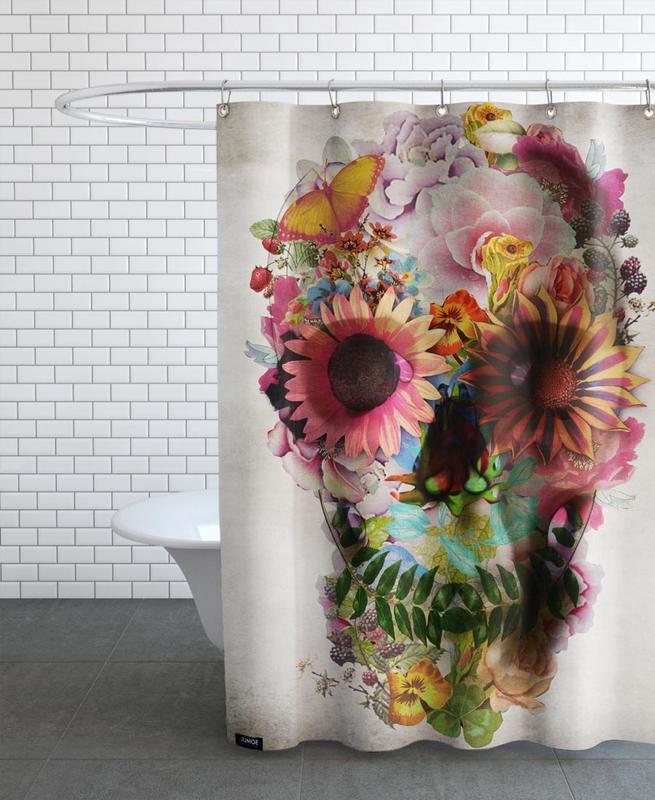 Skull II -Duschvorhang