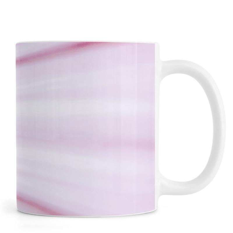 Palms, Pink Palm Mug