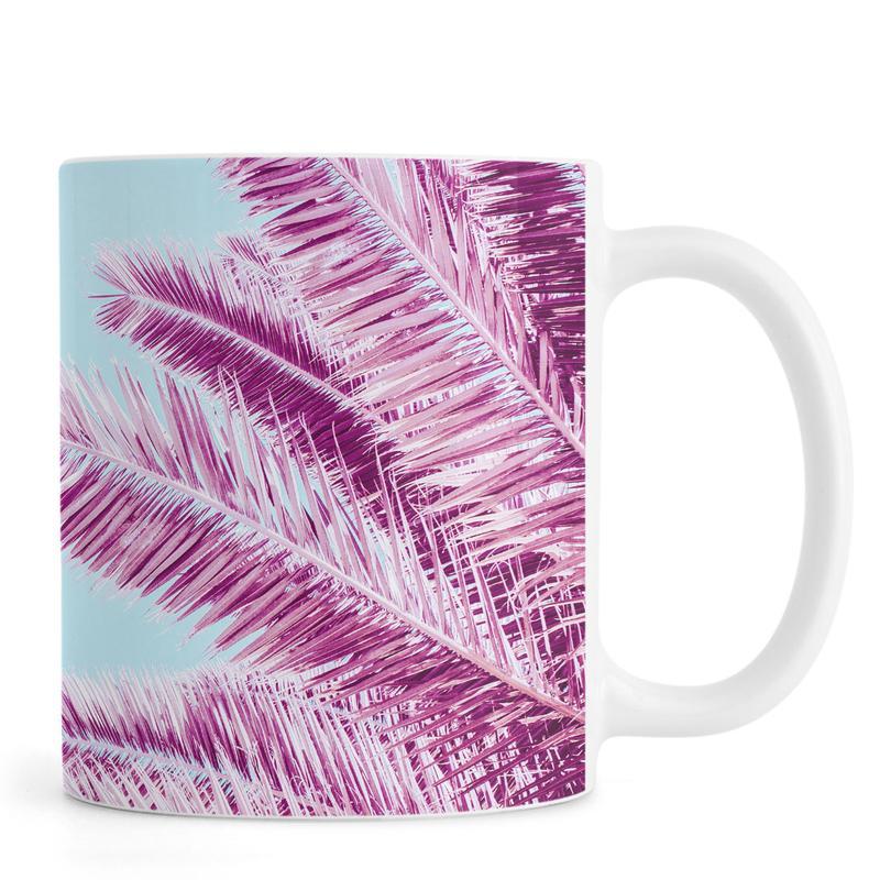 Palms, Pink Palm Trees Mug