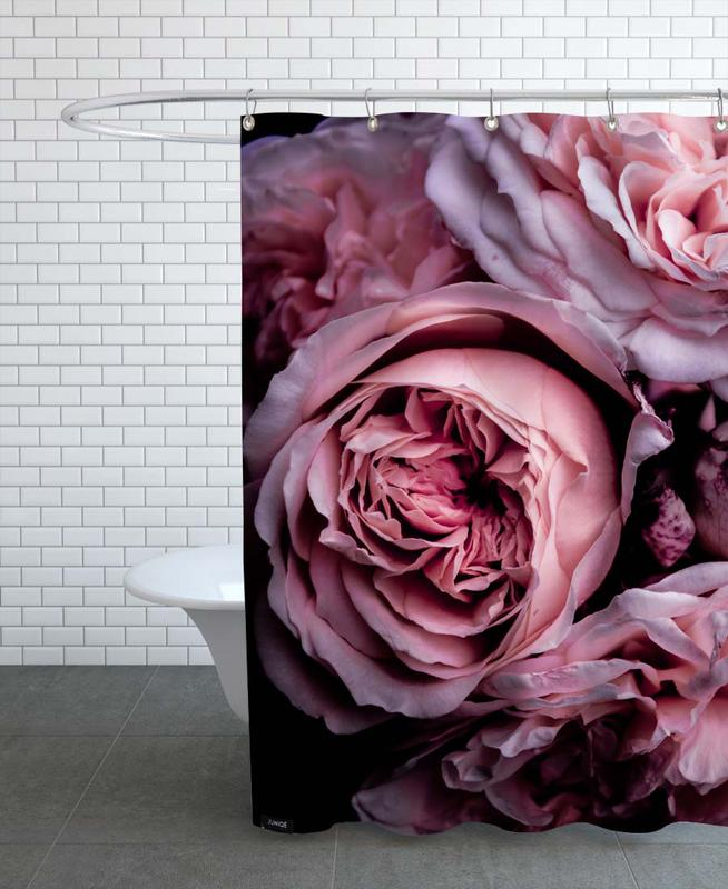 Vintage Pink Shower Curtain