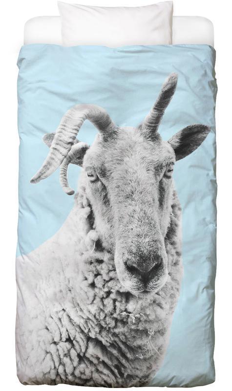 Blue Sheep Bed Linen