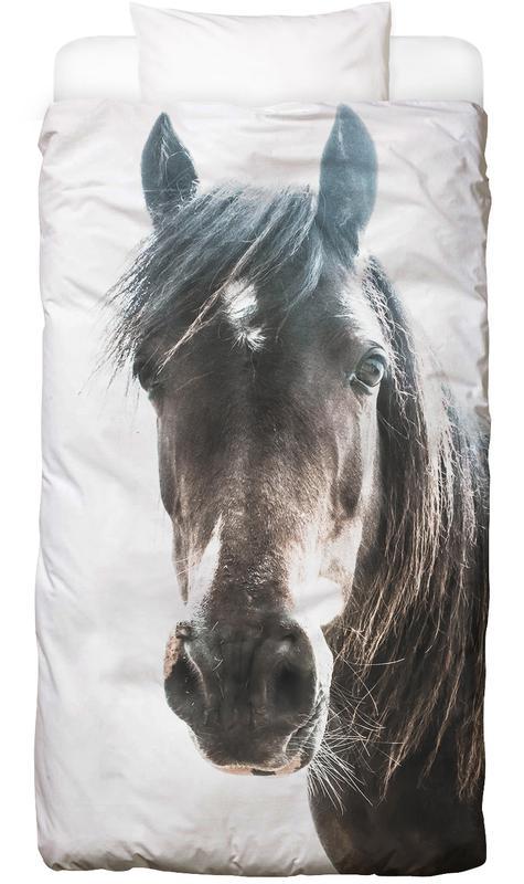 Horse Linge de lit