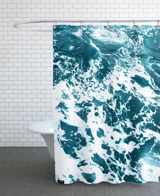 Ozeane, Meere & Seen, Ocean Blue -Duschvorhang