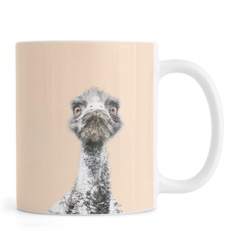 Orange Emu -Tasse