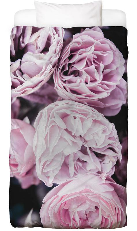 Pink flowers II Linge de lit
