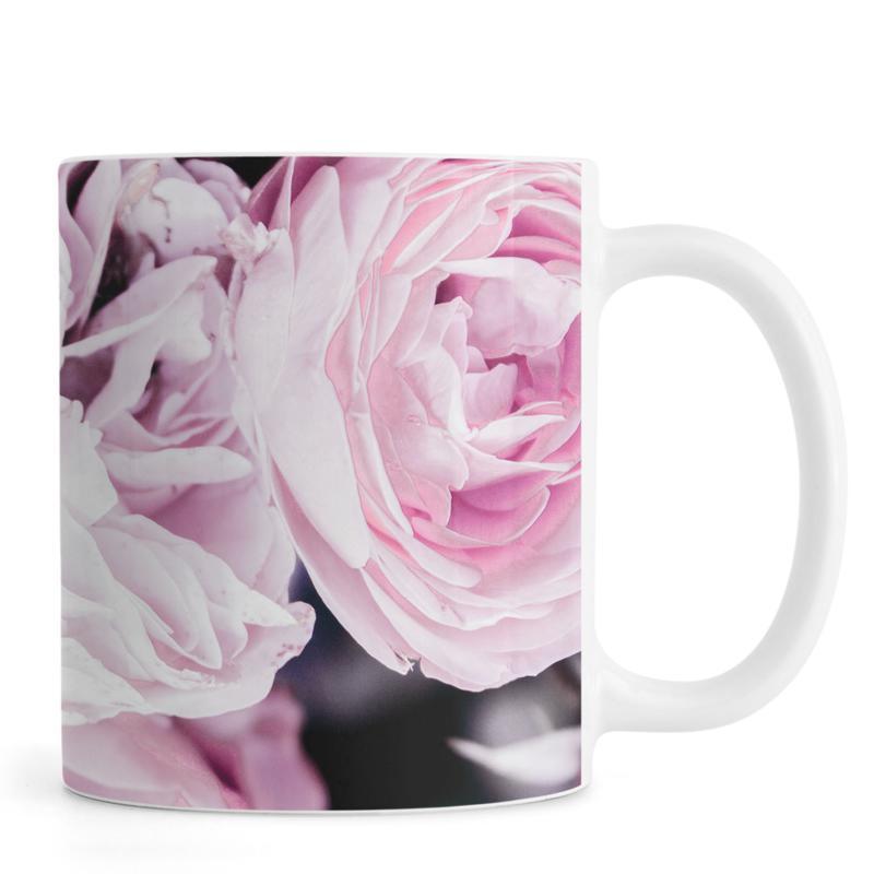 Roses, Pink flowers II Mug