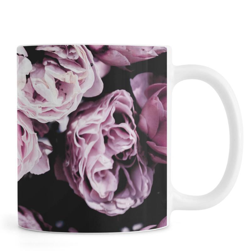 Roses, Pink Flowers III Mug