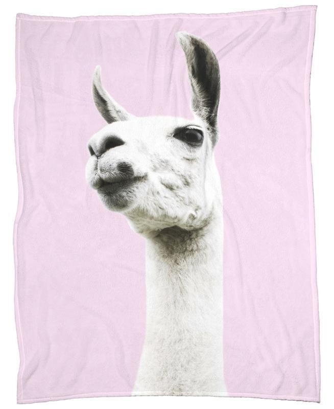 Pink Llama plaid