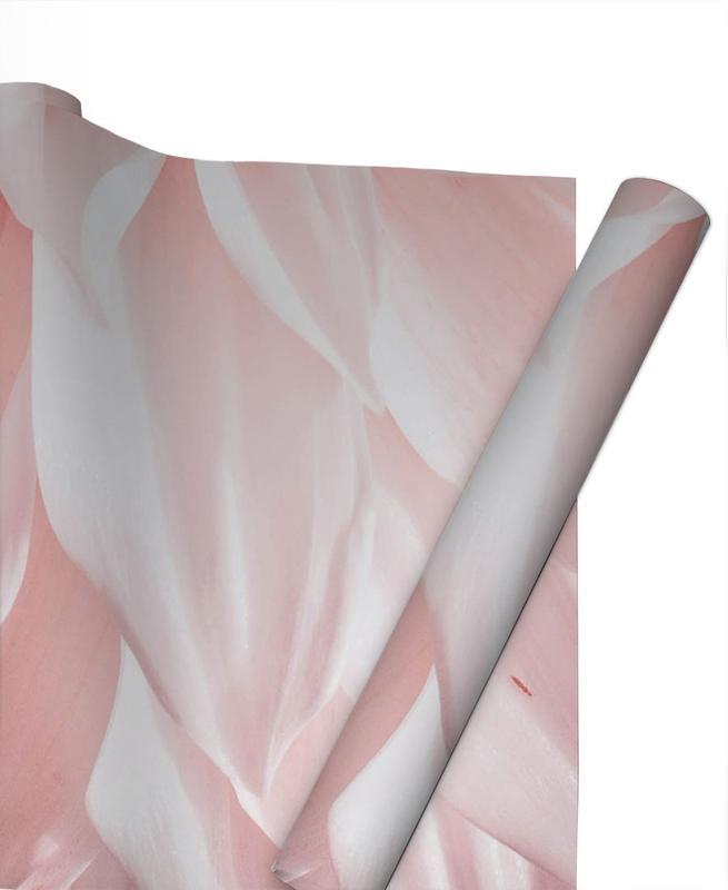 , Pink Petals Gift Wrap