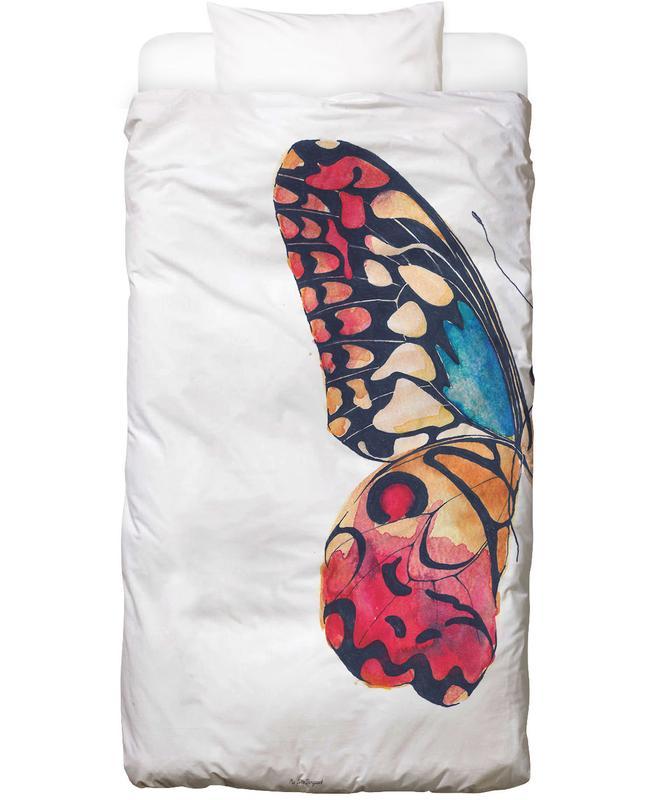 Kinderzimmer & Kunst für Kinder, Hochzeiten, Schmetterlinge, Butterfly Left Bettwäsche