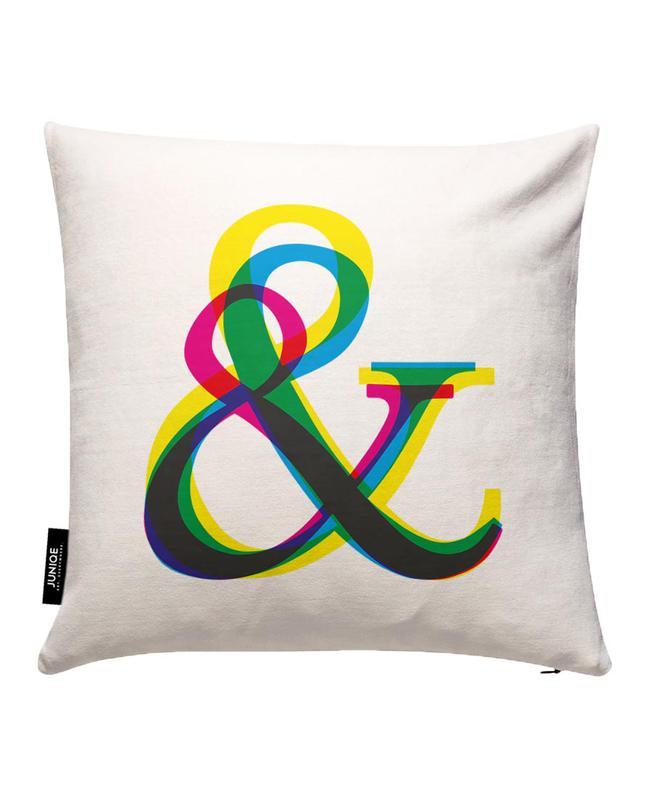 Ampersand III Cushion Cover