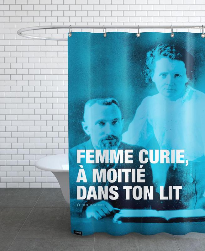 Curie Shower Curtain