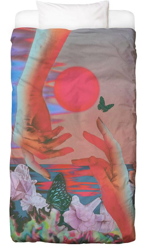 Papillons, Détails corporels, Butterfly Linge de lit
