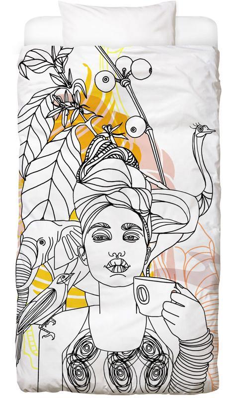 , Coffe Break - Queens & Dandies Linge de lit