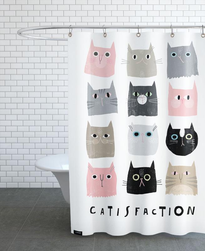 Chats, Catisfaction 1 rideau de douche