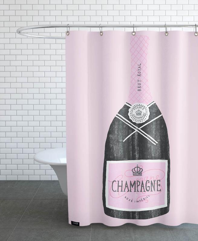 Geburtstage, Wein, Glückwünsche, Hochzeiten, Champagne -Duschvorhang