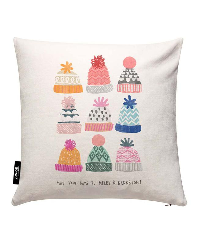 Brrright Christmas No. 1 Cushion Cover