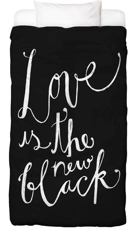 Zitate & Slogans, Schwarz & Weiß, Valentinstag, Love No.1 Bettwäsche