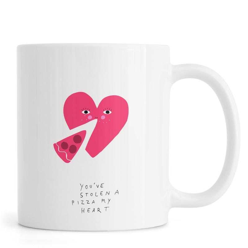 A Pizza My Heart -Tasse