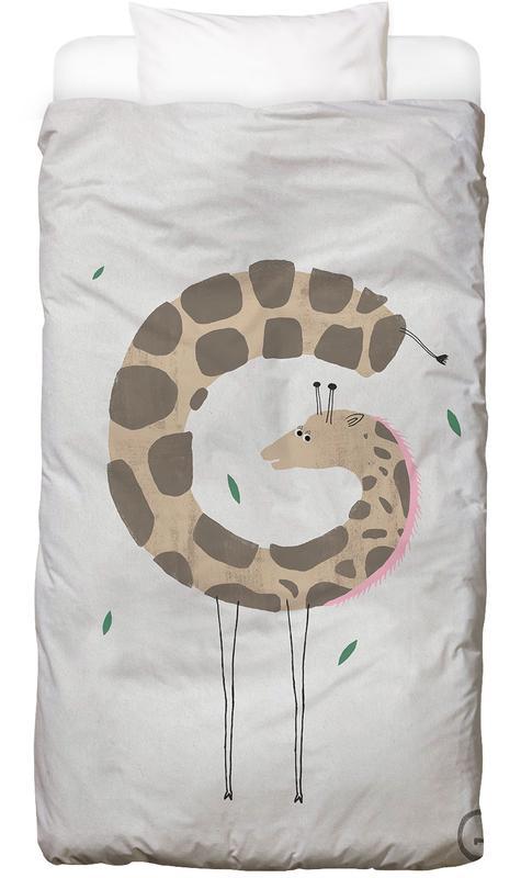 Alphabet & Buchstaben, Kinderzimmer & Kunst für Kinder, Giraffen, ABC Kids - G -Kinderbettwäsche