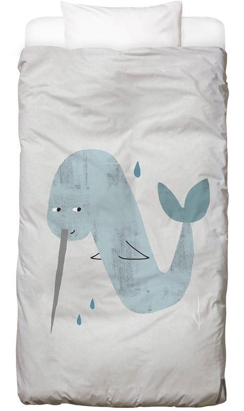 Nursery & Art for Kids, Alphabet & Letters, Whales, ABC Kids - N Kids' Bedding