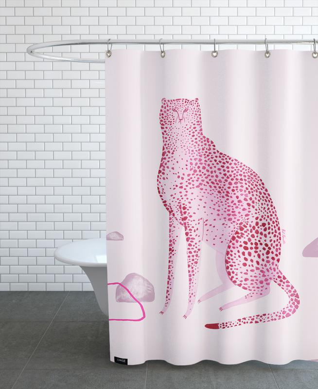 Wild Cats No.1 Shower Curtain