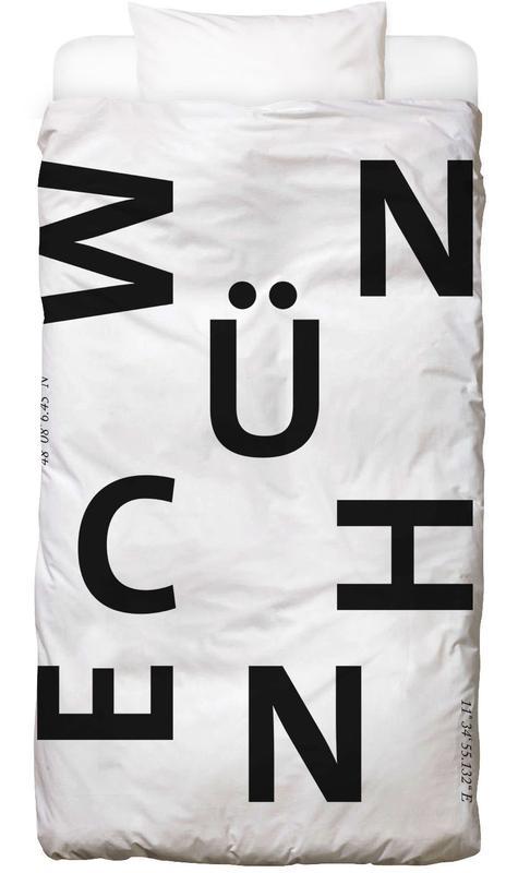 Cities - München Linge de lit