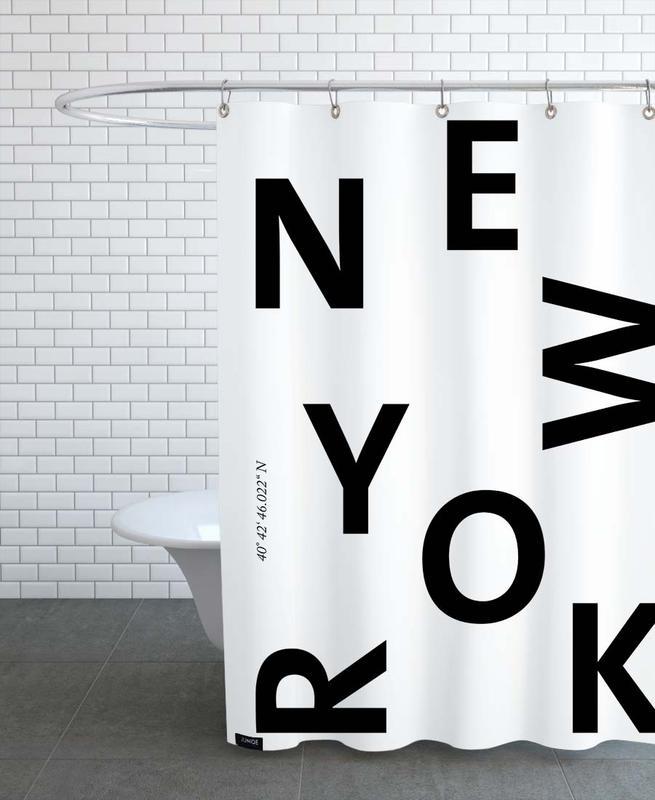 Cities - New York -Duschvorhang