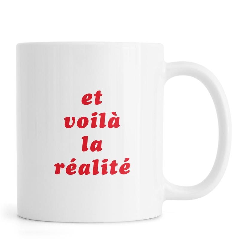 Realite No. 3 -Tasse