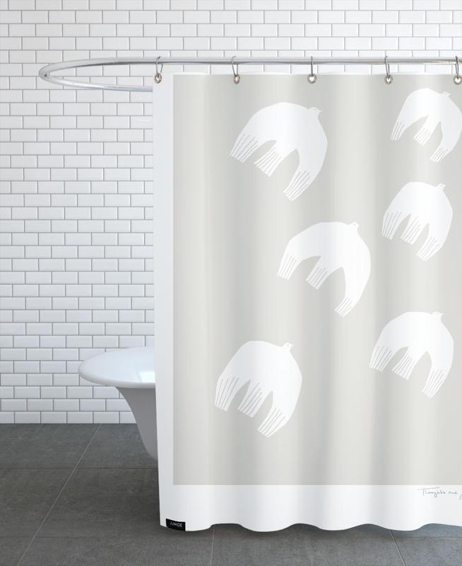 Thoughts Are Free No. 1 Shower Curtain