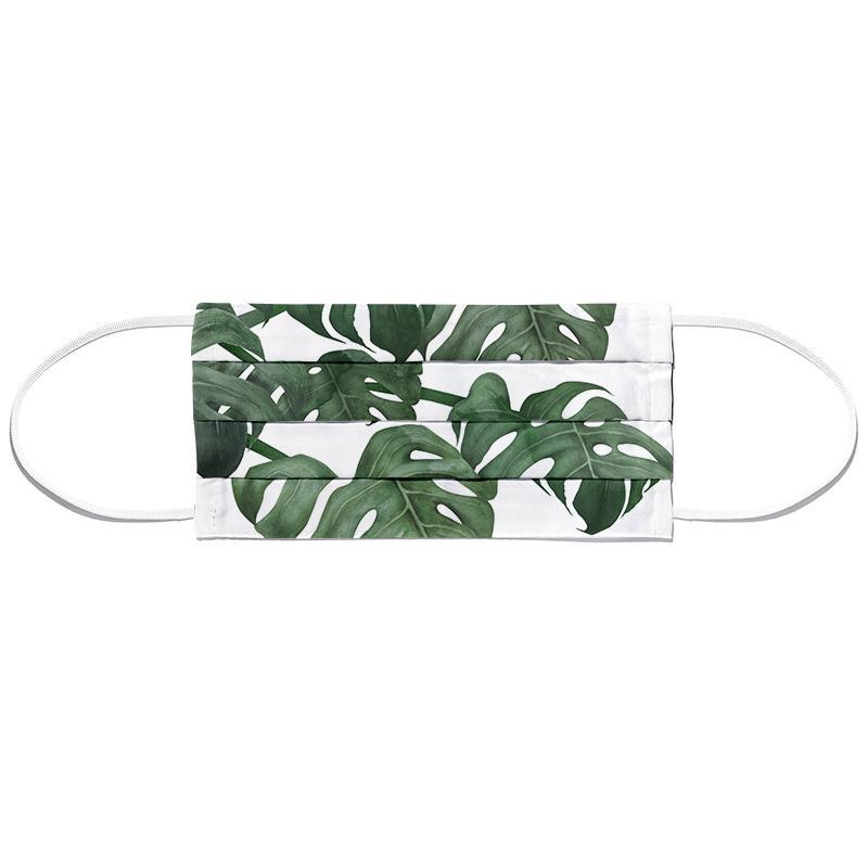Tropical No. 6 Masque barrière en tissu