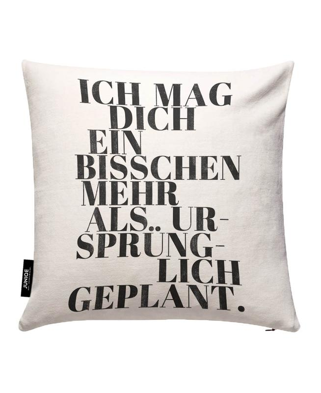 Geplant Cushion Cover