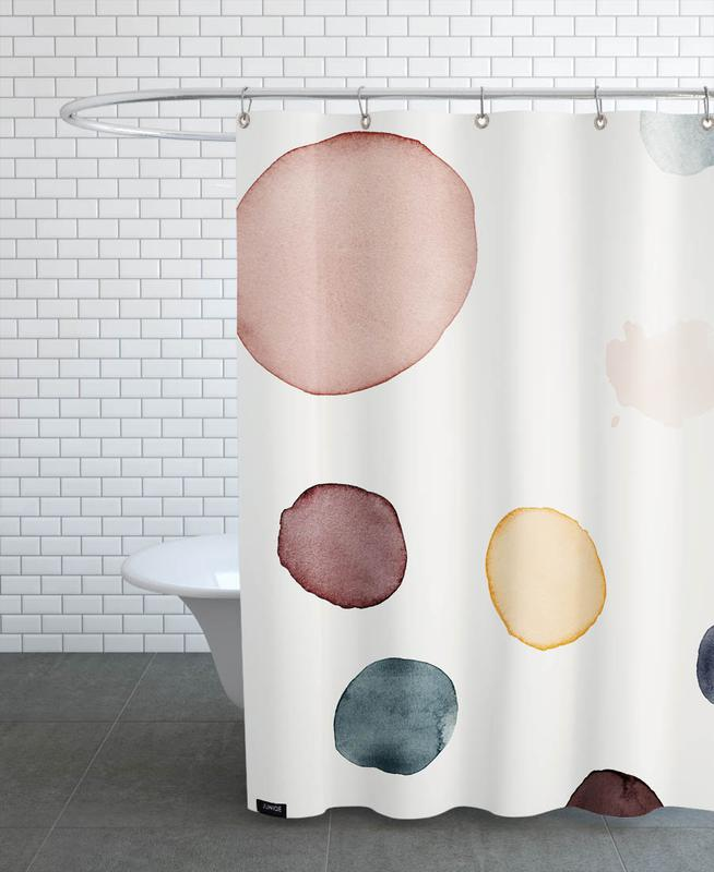 , Peace Shower Curtain