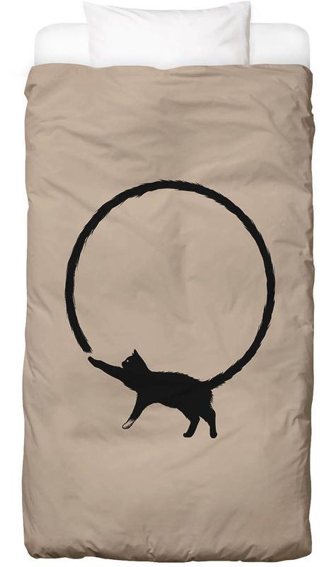 Katzen, Kinderzimmer & Kunst für Kinder, Lustig, Cat Circle -Kinderbettwäsche