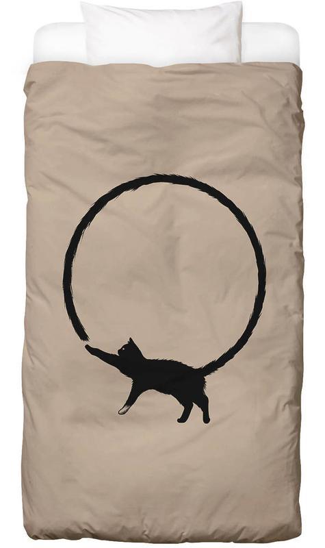 Humour, Chats, Art pour enfants, Cat Circle housse de couette enfant