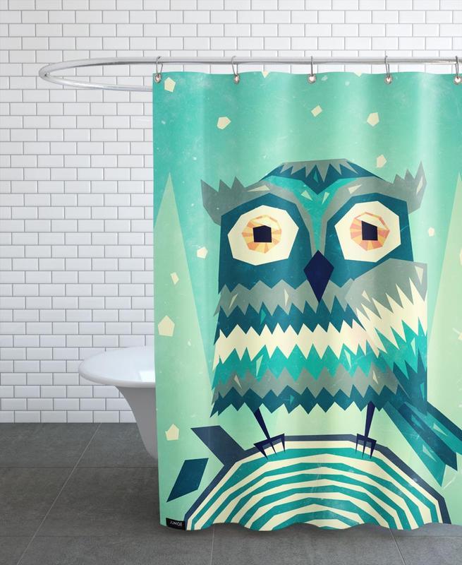 Art pour enfants, Chouettes, Boohoo rideau de douche