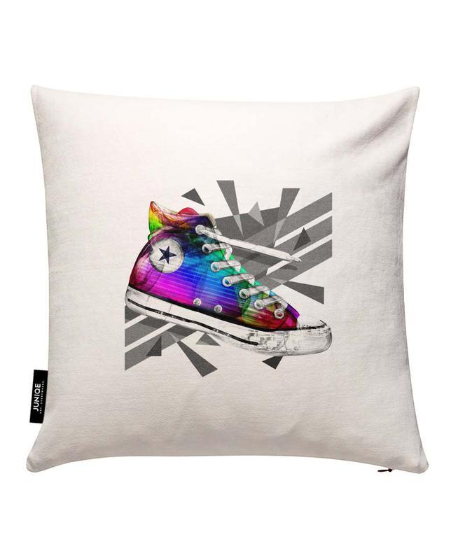 All Star of My Life Rainbow Cushion Cover